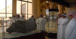 عميد كلية العلوم يستقبل الرئيس التنفيذي لشركة وادي الرياض