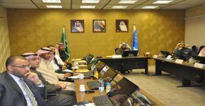 زيارة مشتركة لمركز الاعتماد الخليجي وعمادة التطوير والجودة لكلية الصيدلة