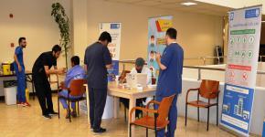 ـ حملة تطعيم الانفلونزا الموسمية بكلية العلوم الطبية التطبيقية ـ