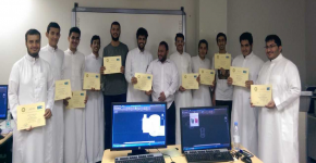 معهد التصنيع المتقدم ينظم دورة فى التصميم لطلاب قسم الهندسة الكهربائية
