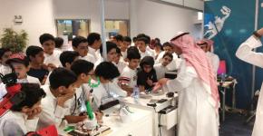 مشاركة مركز أبحاث الروبوتات الذكية  تحوز على اعجاب مايزيد عن 7000 زائر
