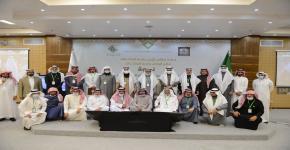 أوقاف جامعة الملك سعود  تشارك في اللقاء التنسيقي الـ12 للأوقاف الجامعية