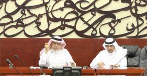 """تقرير: ندوة """"مخاوف الرواية في شهادات الروائيين""""، للدكتور سعد البازعي."""