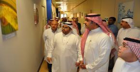 معرض للصور العلمية و التشخيصية بكلية العلوم الطبية التطبيقية