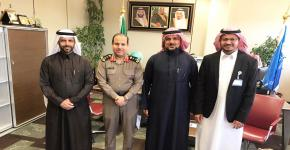 تعاون بين كلية علوم الرياضة والاتحاد الرياضي السعودي لقوى الأمن الداخلي