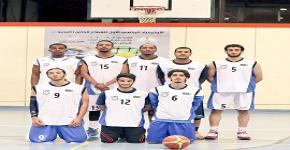 منتخب الجامعة لكرة السلة تحقق بطولة الاولمبياد الرياضي الاول للقطاع الخاص (النخبة 1)