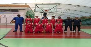 منتخب السلة يكسب جامعة حائل