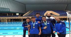 شارك منتخب الجامعة للسباحة في بطولة منطقة الرياض