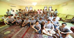 وكالة العمادة للشؤون الرياضية تسيَر قافلة جامعة الملك سعود الرياضية (كلنا سلمان)
