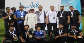 منتخب العاب القوى للاحتياجات الخاصة ابطال الجامعات السعودية