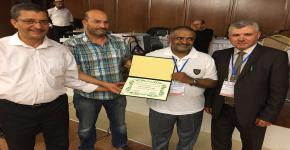 تكريم سعادة الأستاذ الدكتور عبدالله بن محمد العمري رئيس الجمعية السعودية لعلوم الأرض