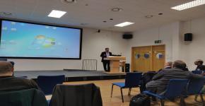 الدكتور باسل السدحان يشارك في تنظيم ورشة عمل في الأمن السيبراني بجامعة لفبرة البريطانية