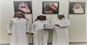 جائزة العميد للموظف المثالي لشهر (جمادى الثاني) تمنح للأستاذ: بخيت بن إبراهيم الدوسري