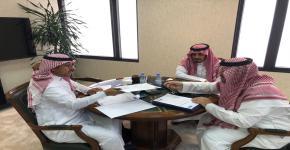 أ.د. النمي يستقبل المشرف العام على برنامج الصم وضعاف السمع