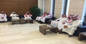 نادي القانون ينظم زيارة للمحكمة الجزائية بالرياض