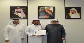 جائزة العميد للموظف المثالي لشهر (ربيع الثاني)  تمنح للأستاذ: الوليد بن محمد الراشد