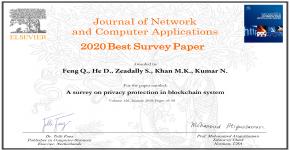KSU Professor Garners 'Best Survey Paper Award'