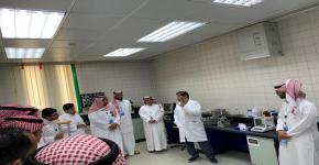 زيارة أعضاء النادي الكيميائي لهيئة المواصفات والمقاييس