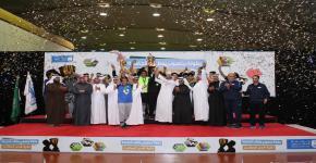 التحضيرية تحرز المركز الأول في بطولة كأس معالي مدير جامعة الملك سعود
