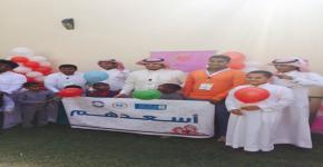 طلاب كلية المجتمع بجامعة الملك سعود يساهمون في الخدمة الاجتماعية