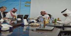 قسم علوم الحاسب يعقد الإجتماع السنوي لمجلسه الإستشاري للعام الجامعي 1437-1438 هـ