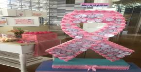 مشاركة وكالة عمادة شؤون الطلاب لشؤون الطالبات في فعالية التوعية بسرطان الثدي