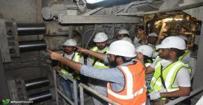 نادي الهندسة يزور مشروع مترو الرياض