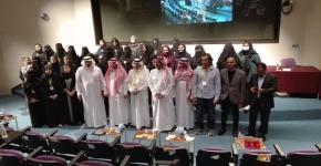 """تحت رعاية عميد كلية الآداب  وبالشراكة مع كرسي الأدب السعودي انطلاق ندوة """" السخرية في الإعلام والأدب """" ضمن ندوات المتلقى الإعلامي"""