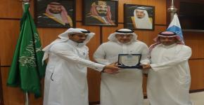 حصول النادي العلمي لطلبة الدراسات العليا على المركز الأول على مستوى الأندية الطلابية العامة في جامعة الملك سعود خلال العام الدراسي 1439-1440 هـ .
