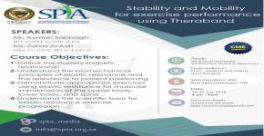 STABILITY AND MOBILITY FOR EXERCISE PERFORMANCE USING THERABAND