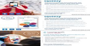 مجموعة من أخصائيات العلاج الطبيعي في صحة المرأة تترجم تطبيق squeezy الشهير