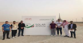 مشاركة فريق المنزل الشمسي المستدام للجامعة في ورشة العمل الثانية لمسابقة الأبنية المعتمدة على الطاقة الشمسية بدبي