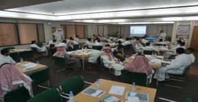 برنامج تدريبي بعنوان مهارات استخدام المكتبة وخدماتها في مكتبة الملك سلمان المركزية