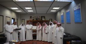 الاستاذ/ راشد بن ناصر النفجان - الموظف المثالي لشهر جمادى الآخرة 1437هـ لكلية السياحة والآثار