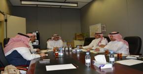 اللقاء الثالث مع وفد الهيئة العامة للسياحة والتراث الوطني للترتيب لملتقى السفر والاستثمار السياحي