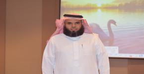 ترقية المدير التنفيذي لصندوق الطلاب أ.خالد التركي للمرتبة الثانية عشرة