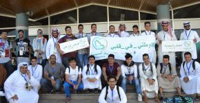 مشاركة طلاب الخدمات الطبية الطارئة ببرنامج (عيش السعودية) للعام 1438هـ
