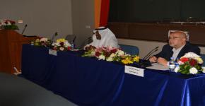 اللقاء المفتوح لرئيس قسم إدارة موارد التراث والإرشاد السياحي الدكتور بكر بن محمد برناوي، مع طلاب القسم