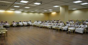 كلية السياحة والآثار تقيم حفل المعايدة بمناسبة عيد الأضحى المبارك