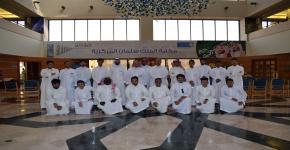 زيارة وحدة الإرشاد الاكاديمي لمكتبة الملك سلمان