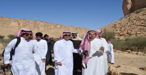 محمية الوعول تستضيف أعضاء النادي الثقافي والاجتماعي بكلية السياحة والآثار