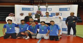 كلية العلوم الطبية التطبيقية  تفوز بالمركز الثاني في بطولة خماسيات كرة القدم