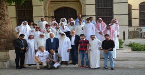 طلاب كلية العمارة والتخطيط يتلقون دورة تدريبية تطبيقية عن الحفاظ على المباني والتأهيل العمراني في جدة التاريخية