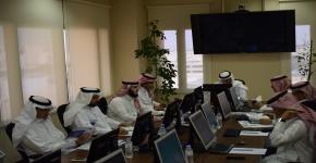 اللجنة التنفيذية العليا لبرنامج الطلبة المتفوقين والموهوبين تعقد اجتماعها الثاني لهذا العام 1438هـ
