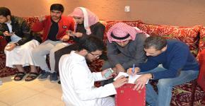 نادي الهندسة الكهربائية يقيم مسابقته الثقافية