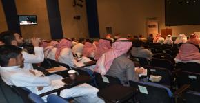 محاضرة في الزي التقليدي السعودي ضمن سلسلة محاضرات نرشد ليرسخ تراثنا