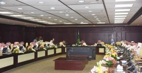 صاحب السمو الملكي الامير سلطان بن سلمان يرأس الاجتماع التاسع للمجلس الاستشاري لكلية السياحة والآثار