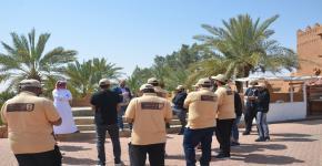 رحلة لطلاب التدريب الميداني إلى قرية أشيقر التراثية