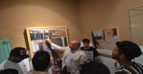 رحلة لطلاب التدريب الميداني بقسم إدارة موارد التراث والإرشاد السياحي إلى قرية الغاط التراثية