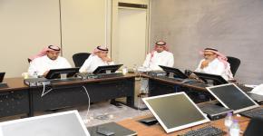 الاجتماع السنوي لعميد كلية العلوم مع عضوات هيئة التدريس في قسم الطالبات